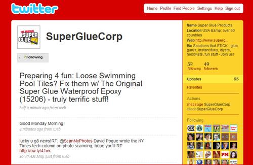 twitterSuperGlueCorp